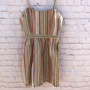 Forever 21 striped dress size medium